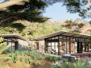 SuP Architecture 飯店 磚塊 Beige