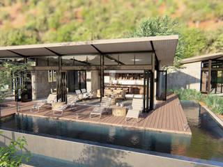SuP Architecture 飯店 鐵/鋼 Beige