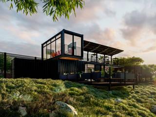 SuP Architecture 酒吧&夜店 金屬 Black
