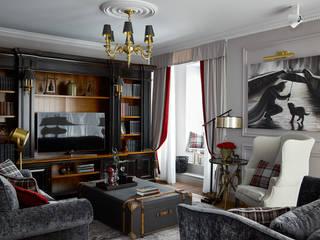 Salones de estilo clásico de VVDesign Clásico