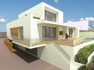 Casas estilo moderno: ideas, arquitectura e imágenes de Roquete Arquitectos Moderno