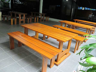 SERI PACIFIC HOTEL Horestco Industries ( M) Sdn bhd Dining roomChairs & benches Wood Brown