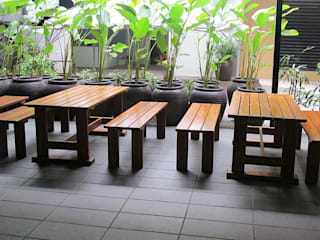 SERI PACIFIC HOTEL Horestco Industries ( M) Sdn bhd Dining roomTables Wood Brown