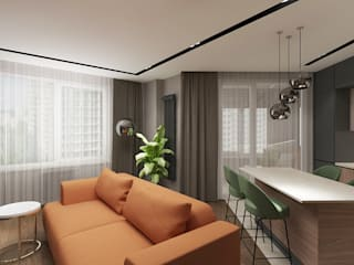 Modern Studio PRIVATE DESIGN Modern dining room
