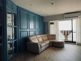 Phòng khách phong cách chiết trung bởi Unicorn Design Chiết trung