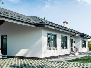 Индивидуальный проект экономичного коттеджа 200 м2. от TMV Architecture company