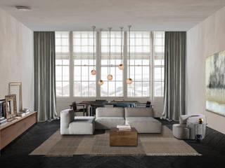 refurbishment project for a city apartment van Noemi Cavallero. interiordesign