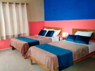 RM Diseño de interiores Rustic style bedroom