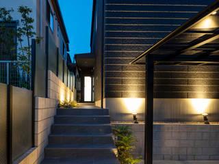 ネイルサロンを併設した家 藤吉建築設計事務所 木造住宅 スレート