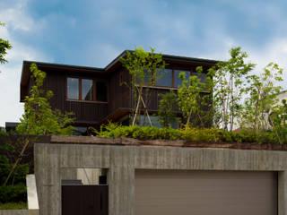 丘の上の家 藤吉建築設計事務所 木造住宅 木 ブラウン
