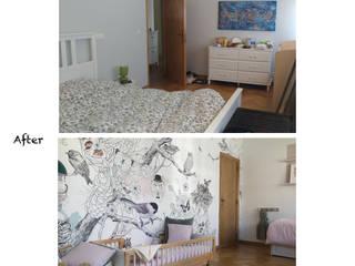 Aménagement et décor de 2 chambres justinside Chambre d'enfantsLits & Berceaux Bois Rose