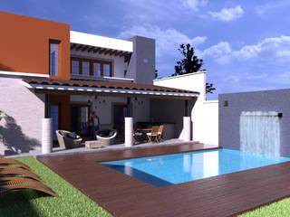 CASA M.R. de V+C Arquitectura Moderno