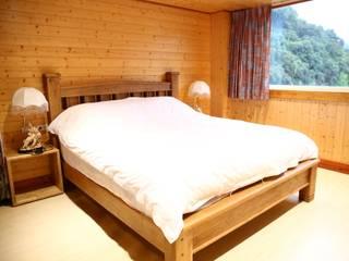 埔里 淘米露 鄉村風系列 英國風情家具 臥室床與床頭櫃 實木 Wood effect