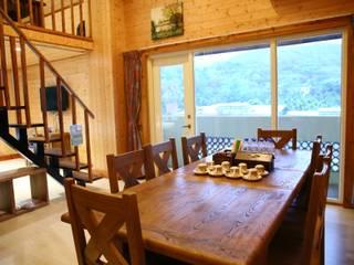 埔里 淘米露 鄉村風系列 英國風情家具 餐廳桌子 實木 Wood effect