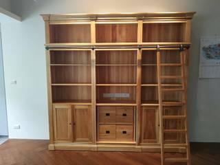 訂製大英書櫃 英國風情家具 書房/辦公室儲藏櫃 實木 Wood effect