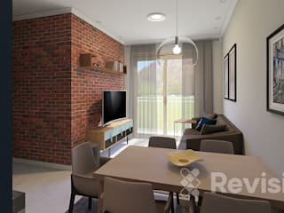 Revisite Living roomTV stands & cabinets Bricks