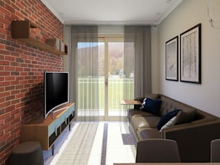 Revisite Living roomLighting Bricks