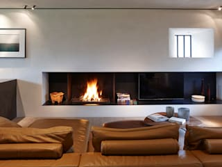 Biojaq - Comércio e Distribuição de Recuperadores de Calor Lda Living roomFireplaces & accessories Black