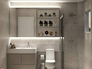 Modern Banyo SCK Arquitetos Modern