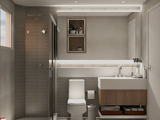 Moderne badkamers van SCK Arquitetos Modern