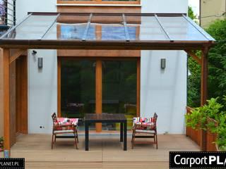 Carport Planet Balcon, Veranda & Terrasse modernes
