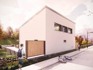 Vivienda unifamiliar HubabaHaus (Navarra) - Passivhaus Plus GA Arkitectura │arquitectura & passivhaus │ Casas de estilo minimalista