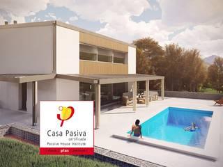 Vivienda unifamiliar HubabaHaus (Navarra) - Passivhaus Plus GA Arkitectura │arquitectura & passivhaus │ Casas unifamilares