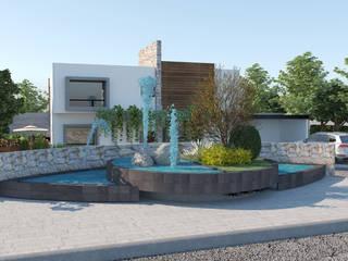 Arquitectura Progresiva منزل عائلي صغير أسمنت White