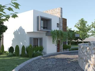 Arquitectura Progresiva منازل أسمنت White