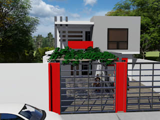 Dacsa Reynosa Multi-Family house Concrete White