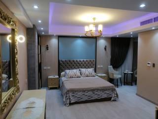 كاسل للإستشارات الهندسية وأعمال الديكور والتشطيبات العامة Small bedroom Wood Amber/Gold