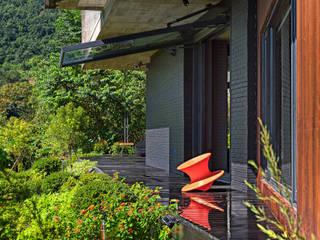 BOX@輕觸大地 大湖森林室內設計 前院 水泥 Green