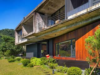 BOX@輕觸大地 大湖森林室內設計 庭院遮陽棚 水泥 Orange