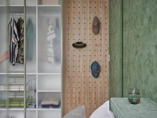 스칸디나비아 침실 by 寓子設計 북유럽