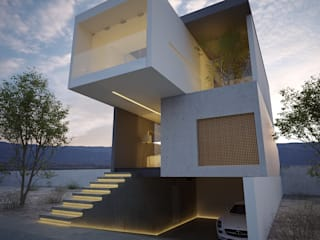 21arquitectos Minimalistyczne domy