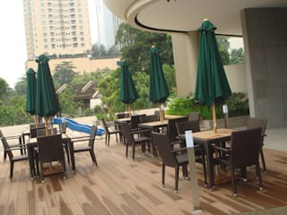 THE OVAL CONDOMINIUM Horestco Industries ( M) Sdn bhd Pool Rattan/Wicker Brown