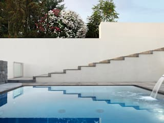 Modern pool by giovanni francesco frascino architetto Modern
