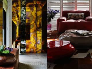 Art de Vivre 浮夸 大湖森林室內設計 門 玻璃 Red