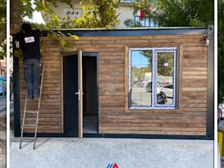 Mobil Villam Wooden houses Wood Wood effect