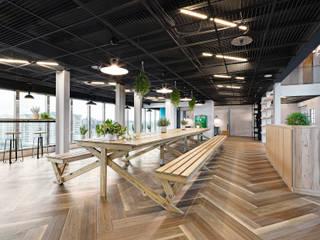 日商公司辦公室-台灣微告MicroAd Taiwan 光島室內設計 商業空間