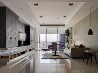 特別的委託案-康舟里澤- Light house 光邸. 光島室內設計 现代客厅設計點子、靈感 & 圖片