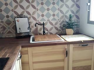 Maria jose bonet KitchenCabinets & shelves Wood effect