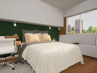Revisite Minimalist bedroom