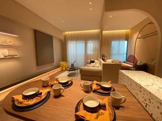 MSBT 幔室布緹 Ruang Makan Modern Granit Brown