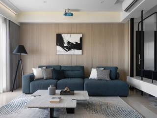 知域設計 Scandinavian style living room