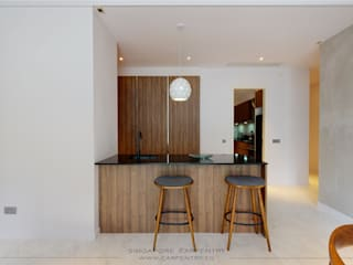 por Singapore Carpentry Interior Design Pte Ltd Minimalista