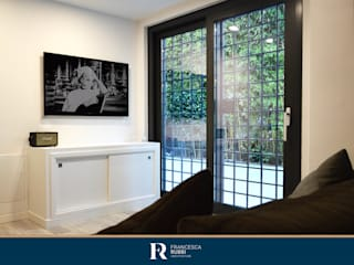 Ristrutturazione appartamento 140 mq – Roma Soggiorno moderno di Francesca Rubbi Architecture Moderno