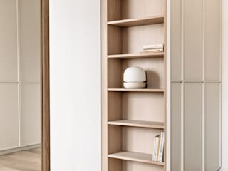 INpuls interior design & architecture Modern dressing room