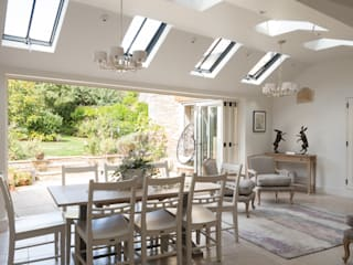 Conservation Rooflights at Private Residence, Peterborough Clement Windows Group Okna dachowe Matal