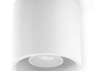 Plafon Orbis biały od 4FunDesign.com Nowoczesny